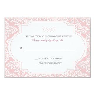 True Love Response Card 9 Cm X 13 Cm Invitation Card
