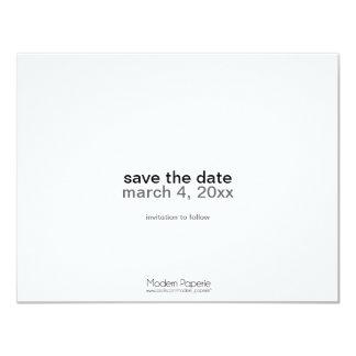 "True Love ""Save-the-date"" Announcement (Photo) 4.25"" X 5.5"" Invitation Card"