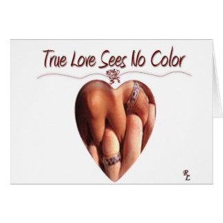 True Love Sees No Color card