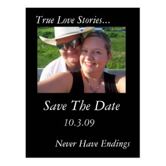 True Love Stories Postcard