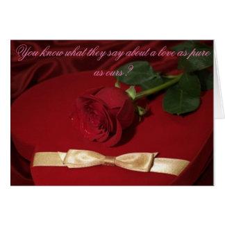 True Love Swallows Card