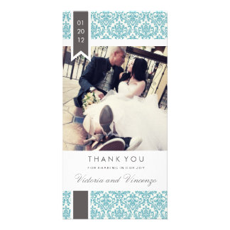 TRUE LOVE | WEDDING THANK YOU CARD
