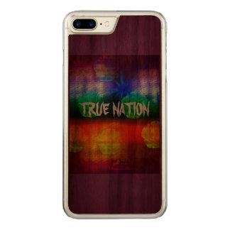 True Nation Carved iPhone 8 Plus/7 Plus Case