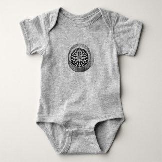True North Compass Baby Bodysuit