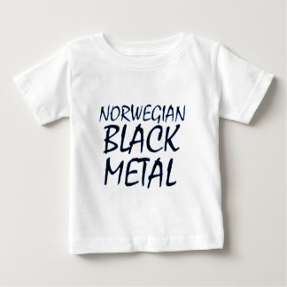 True Norwegian Black Metal Baby T-Shirt