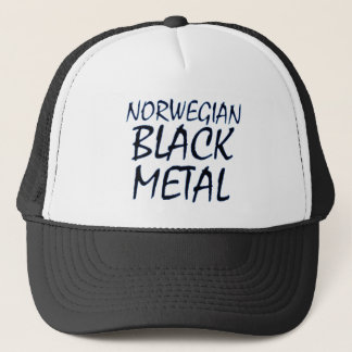 True Norwegian Black Metal Trucker Hat