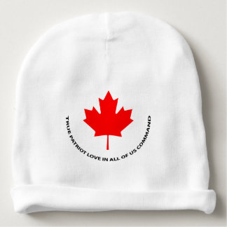True patriot love in all of us command baby beanie
