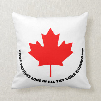 true patriot love in all thy sons command cushion