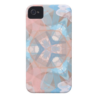 True Pinkish Blue iPhone 4 Cover