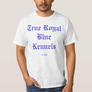 True Royal Blue Shirt