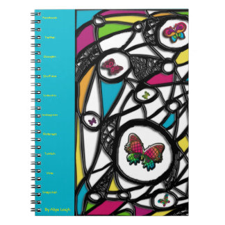 True Social Butterfly  By Aliya Leigh Notebook