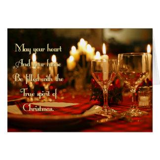 True Spirit Christmas Card