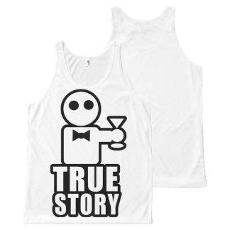 True Story All-Over Print Singlet