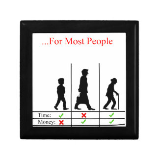 True Story Of Life Small Square Gift Box