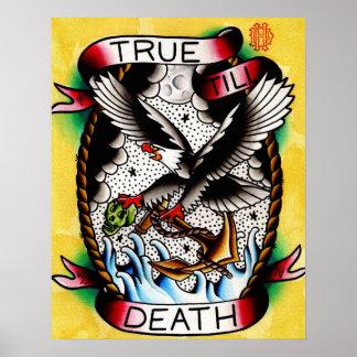 True Till Death Print