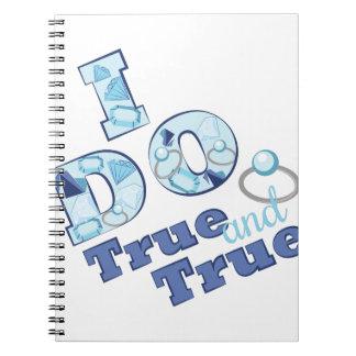 True & True Spiral Notebook