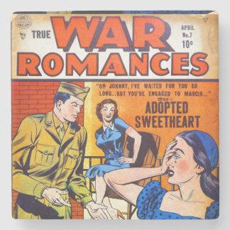 True War Romances #7 Stone Beverage Coaster