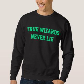 TRUE WIZARDS NEVER LIE SWEATSHIRT