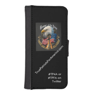 TruePatriotsForAmerica.com iPhone 5S Wallet Case