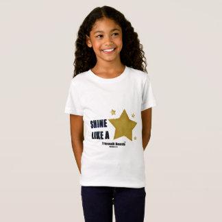 TRUEWALK BOARDS STAR Girls' Fine Jersey T-Shirt