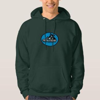 TRUEWALK LOGO Men's Basic Hooded Sweatshirt
