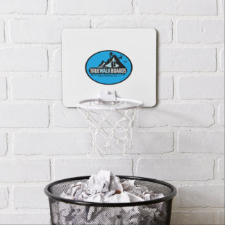 TRUEWALK LOGO MINI BASKETBALL GOAL MINI BASKETBALL HOOP