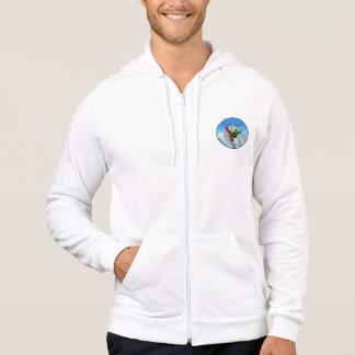 TRUEWALK SNOWBOARD Men's Fleece Zip  Hood Hoodie