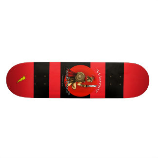 "TRUEWALKBOARDS 7¾""  WARRIOR LIGHTNING BOARD 21.6 CM OLD SCHOOL SKATEBOARD DECK"