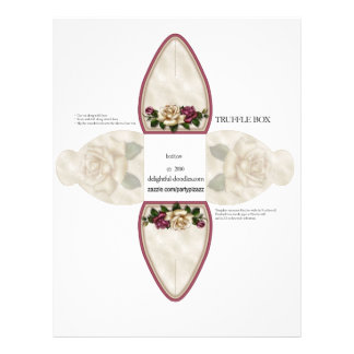 Truffle Box Party Favor box. Birthday or weddings 21.5 Cm X 28 Cm Flyer