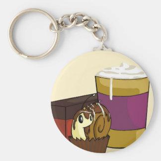 Truffle Snail Keychain