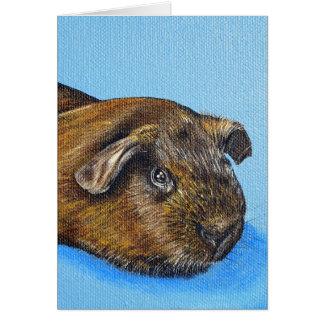Truffle the Guinea Pig Card