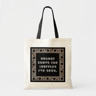 truffles tote budget tote bag