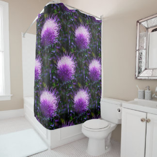 Truffula Trees Shower Curtain