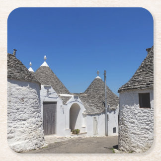 Trulli houses in Alberobello, Puglia coaster
