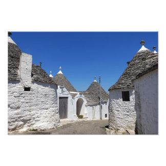 Trulli houses in Alberobello, Puglia print