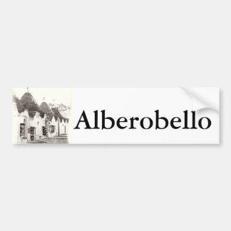trullis in Alberobello, Puglia, Italy Bumper Sticker