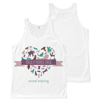 Truly Force Free Unisex Tank All-Over Print Tank Top