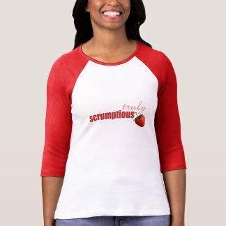 """Truly Scrumptious"" t shirt"