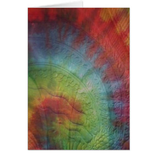 Truly Tye Dye Card