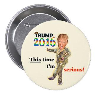 Trump 2016 7.5 cm round badge