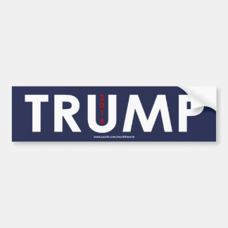 TRUMP 2016 Bumper Sticker - BOLD Text