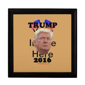 Trump_2016 Large Square Gift Box