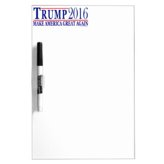 Trump 2016 make America Great Again Dry-Erase Whiteboards
