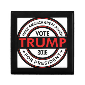 Trump 2016 President USA Election Small Square Gift Box
