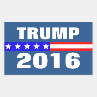 TRUMP 2016 Presidential Election Campaign Rectangular Sticker