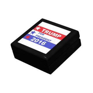 Trump 2016 small square gift box