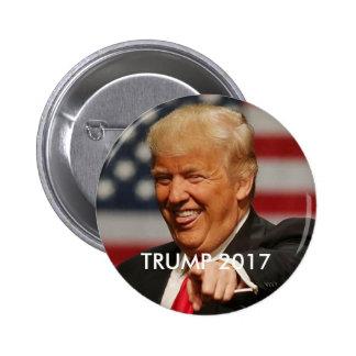 TRUMP 2017 president 6 Cm Round Badge