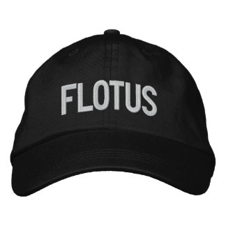 Trump 2020 FLOTUS design Embroidered Hat