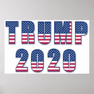 Trump 2020 poster