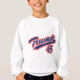 Trump-45-Blue Sweatshirt
